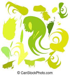 Green shades - Shades of green paint
