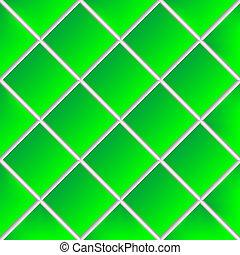 green shadowed ceramic tiles
