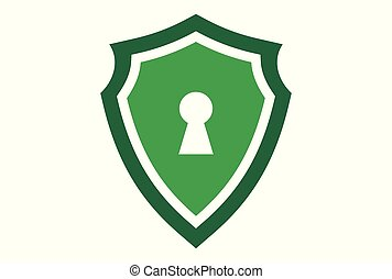 green shield guard lock logo