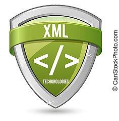 Green shield XML