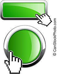 Green shiny button, click here