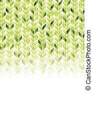 Green shiny geometric hi-tech background