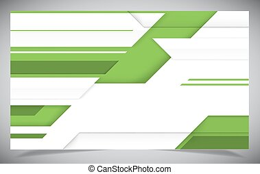 Green shiny hi-tech motion background.