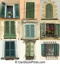 green shutters collection
