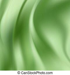 Green Silk Background - Green Silk Fabric for Drapery...