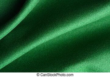 Green silky felt Background