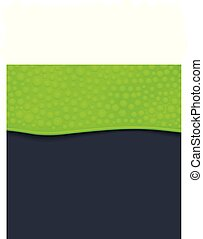 green slime background