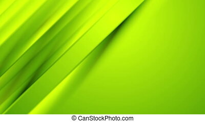 Green smooth diagonal stripes abstract video animation -...