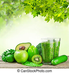 Green Smoothie for Healthy Life