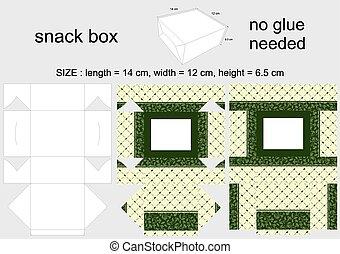 Round background paper tissue box. Facial tissue box ...