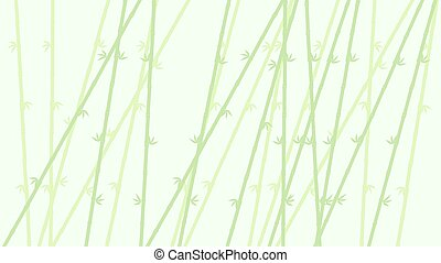 green soft bamboo background