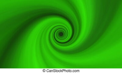 Green Soft Swirl Background 1