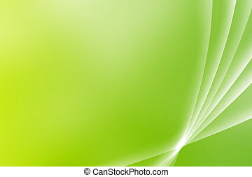 Green Soothing Vista Curves Abstract Background Wallpaper