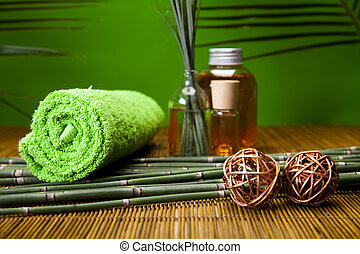 Green spa -  Spa and body care composition