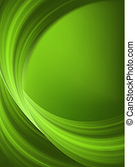 Green spring background. EPS 8