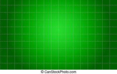 Green square background style collection