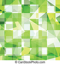 green squares seamless pattern
