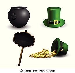 Green St. Patrick s Day hat