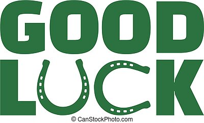 Green St. Patrick's Day good luck