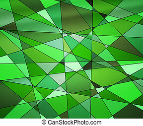 Green Stained Glass Texture