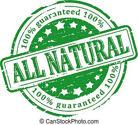 Green Stamp - all natural