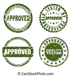 Green Stamp - approved