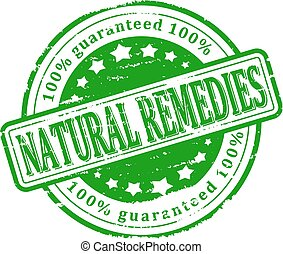 Green Stamp - natural remedies