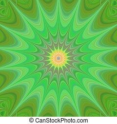 Green star background design vector