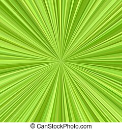 Green star burst background design