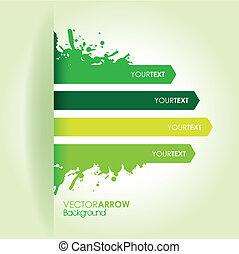 green strip background