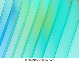 Green stripes. Abstract background