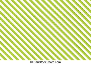 Green stripes on white background.