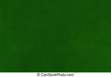 Green suede background - Closeup detail of green leather...