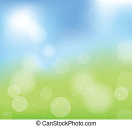 summer abstract blur background