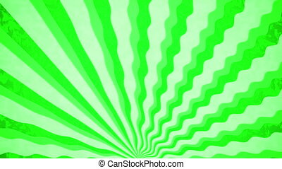 """ Green Sunbeams grunge background."""