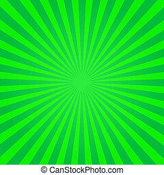 Green Sunburst