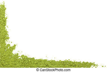 Green superfood background. - Detox background with copy ...