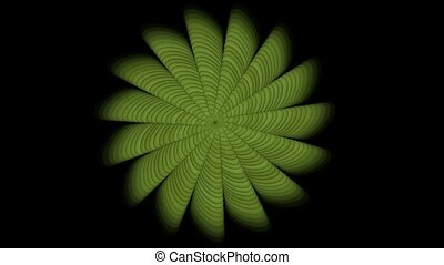 green swirl floral pattern,seamless