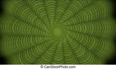 green swirl pattern, seamless loop