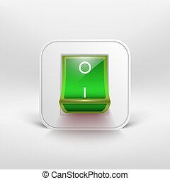 Green switch icon.
