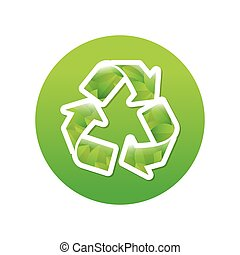 Green symbol recycle reuse reduce