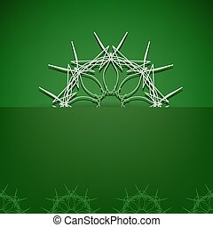 Green Symbolic Background