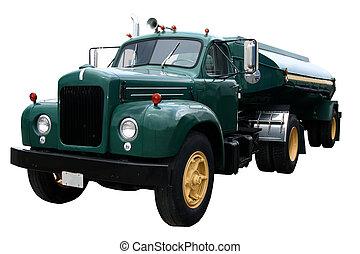 Green Tanker Front