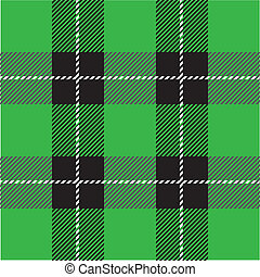 green tartan plaid pattern - vector green tartan plaid...