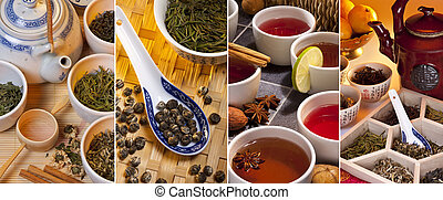 Green Tea - Herbal Tea - Selection of Chinese Green Teas and...