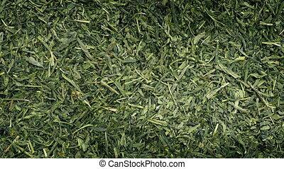 Green Tea Rotating