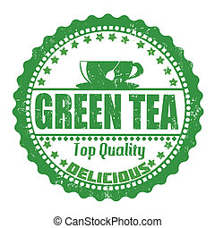 Green Tea stamp