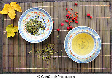 green tea zen