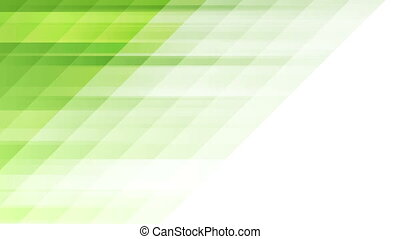 Green tech minimal geometric abstract motion background....
