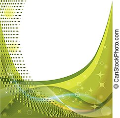 Green template ecology business background